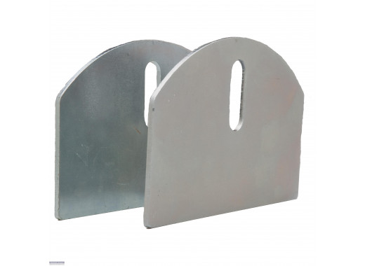 "The 4"" HardCORE Aluminum Carriage Plates (Pair)"
