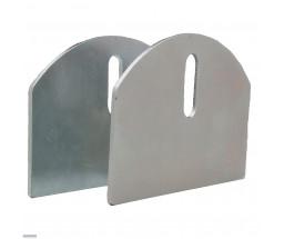 """The 4"""" HardCORE Aluminum Carriage Plates (Pair)"""