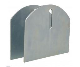 """The 6"""" HardCORE Aluminum Carriage Plates (Pair)"""